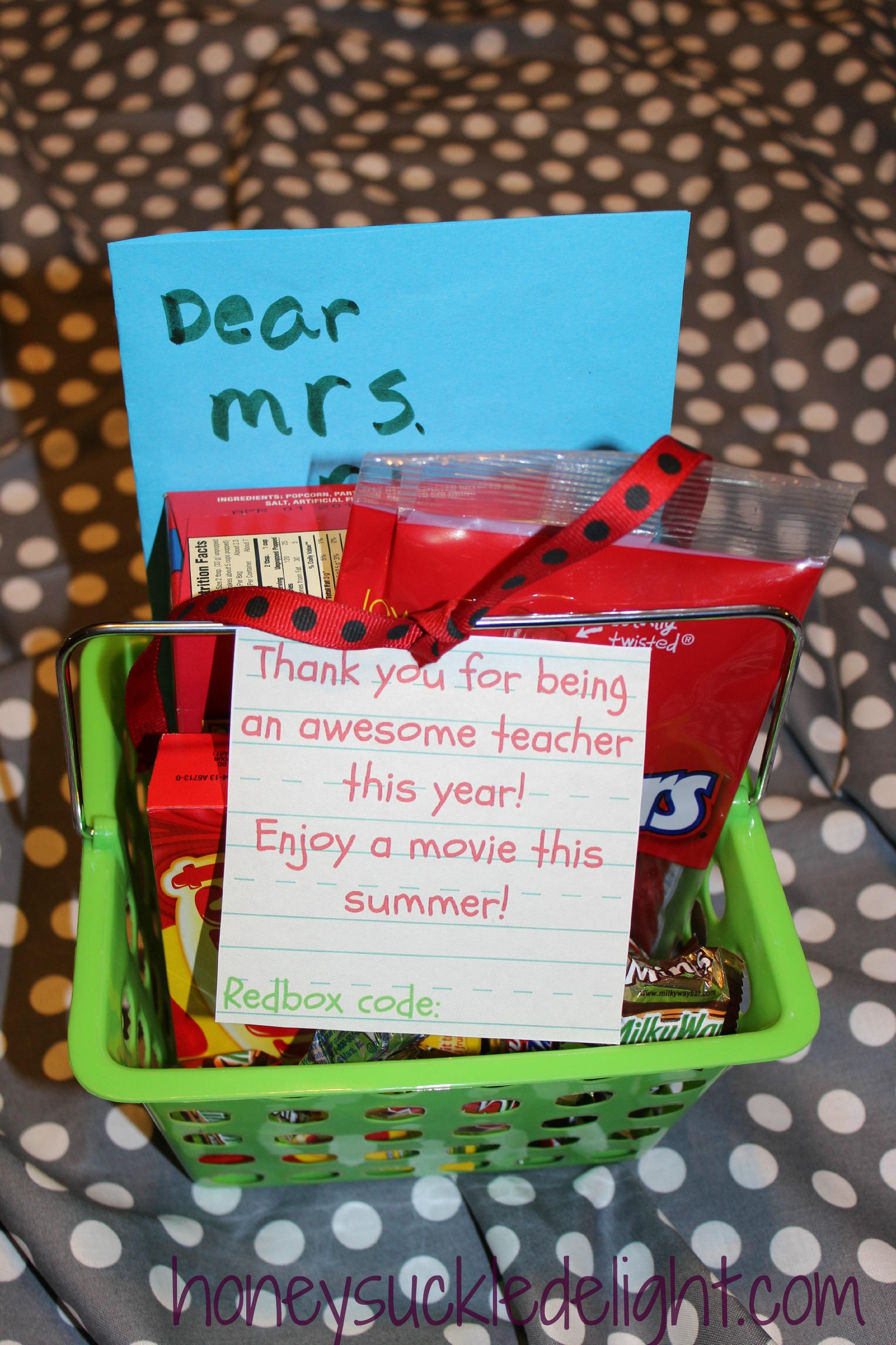 Teacher gift honeysuckle delight teacher gift solutioingenieria Image collections