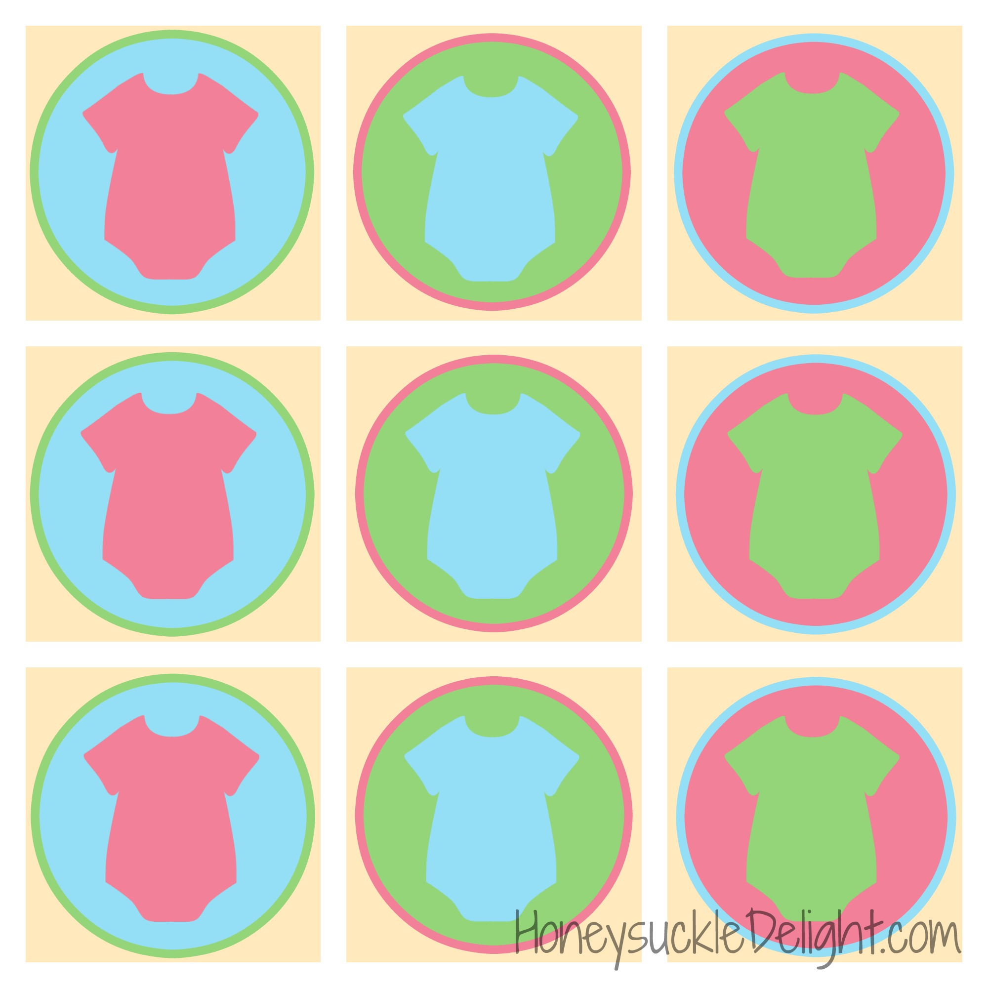 baby shower cupcake toppers free printables the