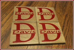 Split Name Coasters